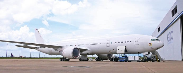 boeing 777 head of state aircraft completion awaiting delivery