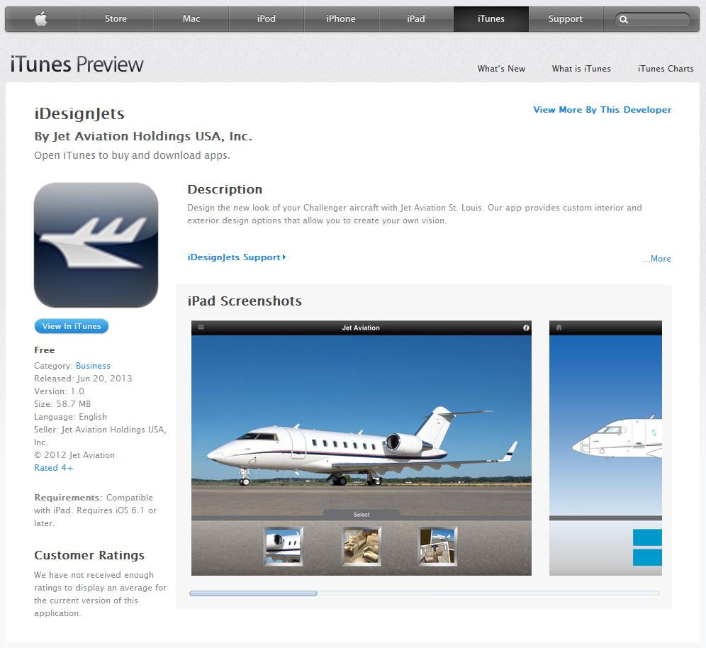 iDesignJets - Apple iTunes Store