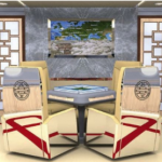 Mahjong table for VVIP aircraft completions