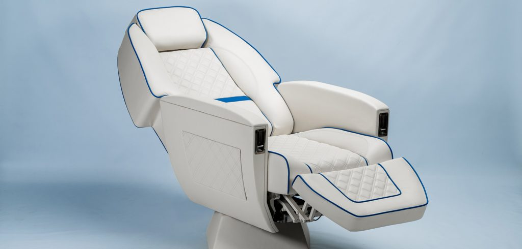 business jet seat from starling aerospace
